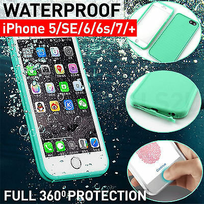 Waterproof Dirtproof Shockproof Thin Tough Case Cover For iPhone 7 Plus 6S 5S SE
