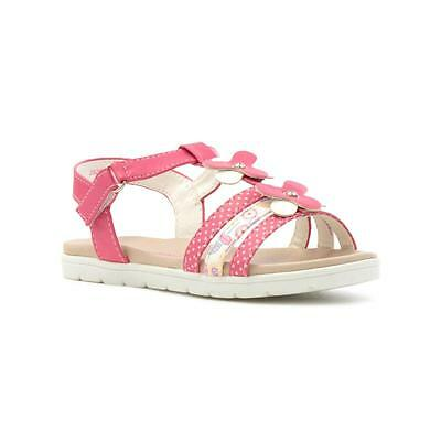 abdc1ca7a3ae WALKRIGHT GIRLS PINK Strappy Flat Sandal - Sizes 4