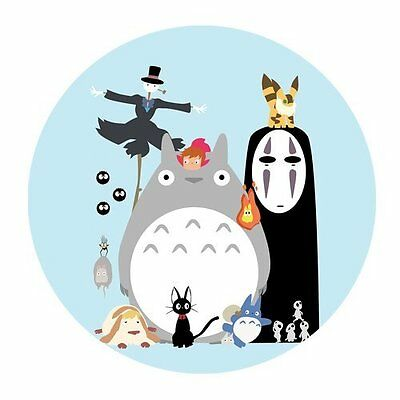 @ALL Fashion My Neighbor Totoro And Take Me To Neverland Round Mousepad