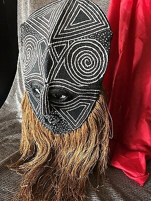 Old North African Dance Mask Morocco …beautiful collector's piece