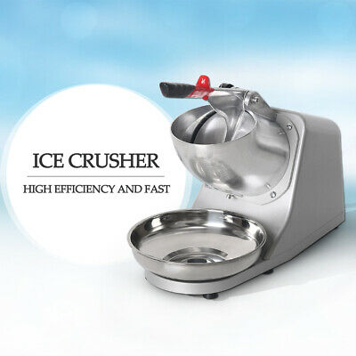 Electric Ice Crusher Machine Shaver Chopper JUICE Snow Cone Maker Machine CE