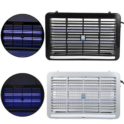 LED Light Electronic Mosquito Insect Killer Fly Bug Zapper Lamp Trap Household S