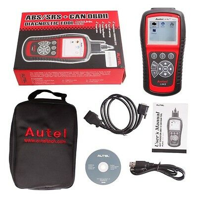 AU Ship Autel AutoLink AL619 CAN ABS SRS OBD2 Code Reader Diagnostic Scan Tools