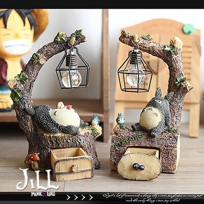 japan LOLITA cartoon my neighbour totoro mushroom forest night light【J1C3003】