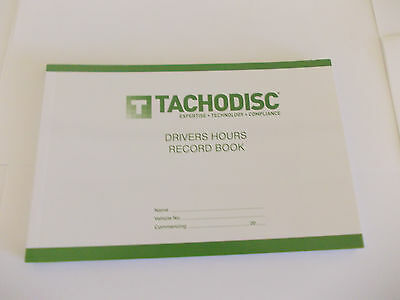 Drivers Hours Record Pad