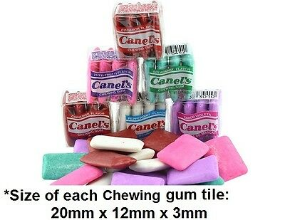 24 Mexico Canel's Chewing Gum approx 100g