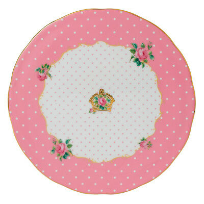 NEW Royal Albert Cheeky Pink Cake Plate