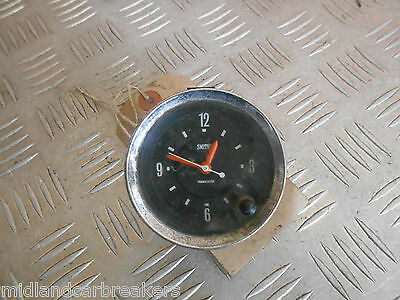 Mg Mgb Gt 1979 Smiths Chrome Car Clock