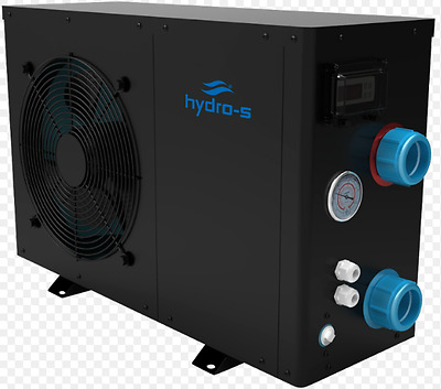 Hydro Pro - S Air Sourced Heat Pump with digital display free bypass Kit