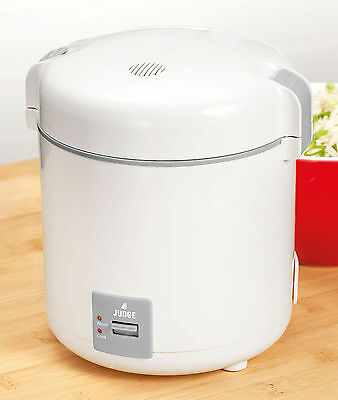 Judge Electrical 0.3L Mini Rice Pasta Cooker Vegetable Steamer JEA63