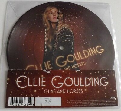 """Ellie Goulding Guns And Horse 7"""" Picture Disc"""