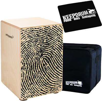 Schlagwerk CP118 X-One Fingerprint  Medium + KEEPDRUM Gig Bag + Pad CP-01