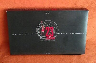 Set The Upper Deck Company 23 Nights Jordan Experience 23 Card Set+Cd Interview