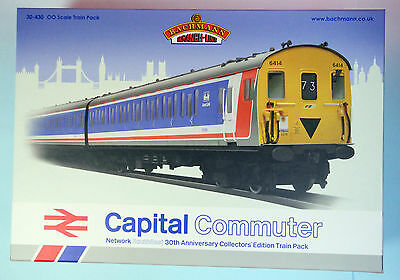 Bachmann 'oo' Gauge 30-430 'capital Commuter' Trainset Boxed