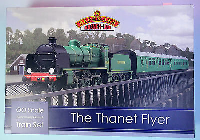 Bachmann 'oo' Gauge 30-165 'thanet Flyer' Trainset Boxed