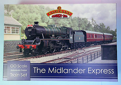 Bachmann 'oo' Gauge 30-285 'the Midlander Express' Trainset Boxed