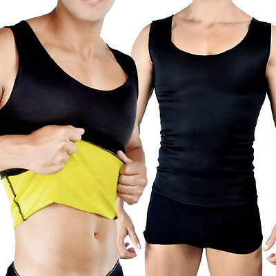 Canotta Uomo Shapers Fascia Instant Training Maglia Dimagrante Palestra Fit