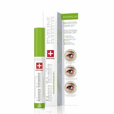 Eveline 3in1 Advance Volumiere Eyelashes Concentrated Serum 10ml