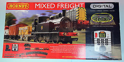 Hornby 'oo' Gauge R1126 'mixed Freight' Digital Trainset Boxed