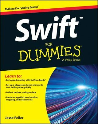 Swift For Dummies by Jesse Feiler 9781119022220 (Paperback, 2015)