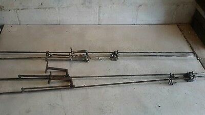 Antique Transom Window Rod Opener Mechanism Hardware lot of4