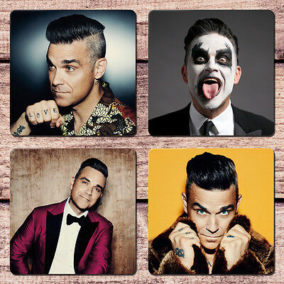 Robbie Williams Coaster Set NEW 2017 Love My Life Angels Supreme Bodies Feel