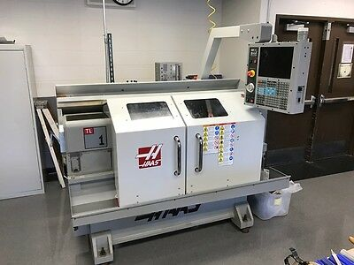 Used Haas TL-1 CNC Manual Lathe Turning Center Turret 16x30 Tailstock Chuck '08
