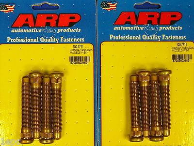 ARP 100-7711 Extended Wheel Stud Kit Honda Civic Integra CRX Accord 12mm 8 pcs