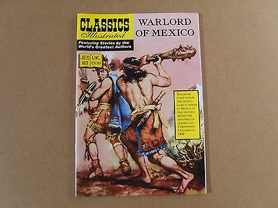 CLASSICS ILLUSTRATED JES  No 63 (2010) - WARLORD OF MEXICO