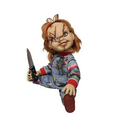 "Scarred Chucky 38cm Mega Scale Doll Horror Puppe Childs Play 15"" Figur Mezco"