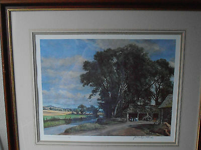 James McIntosh Patrick Print - The Steadings, Signed Ltd.Edition