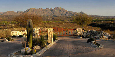 Arizona Land 4.5 Acres With Water, Gas, Electric Sewer Gated -Views