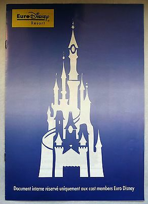 Rare Document Publicitaire Euro Disney / Philips / Cast Members
