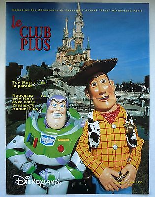 "Ancien Magazine ""Le Club Plus"" N°7 / Mai 1996 / Disneyland Paris"