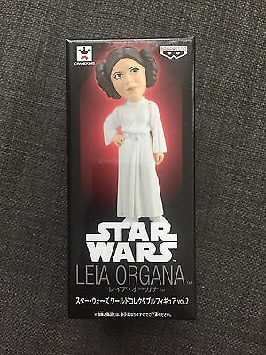 STAR WARS Leia Organa World Collectible FIgure Vol 2. Banpresto