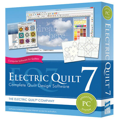 Electric Quilt A-007EQ  7 For PC-
