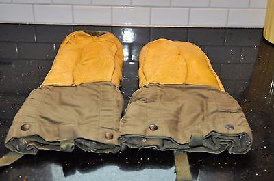 WWII Military Extreme Weather Artic Insulated Cold Weather Mittens or Gloves