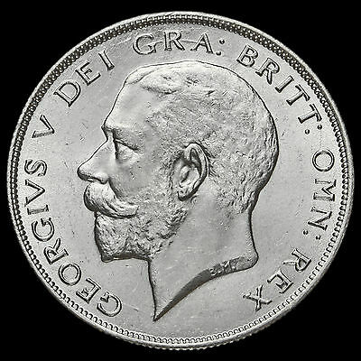 1926 George V Silver Half Crown, Second Coinage, Rare, BU