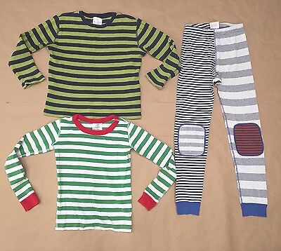 Hanna Andersson 130 140 / 8-10 - Organic Cotton Long John Thermal Set Pre-owned