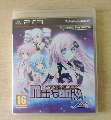 Ps3 : Hyperdimension Neptunia Mk2 Italiano Come Nuovo Completo Playstation 3 Ita