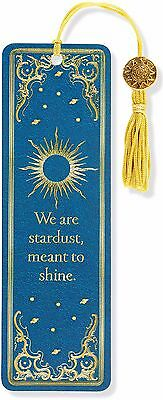 Celestial Beaded Bookmark Inspirational Quote Fun Cheap Gift Reading Books Book