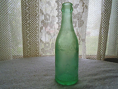 antique straight sided coca cola scripted bottle albuquerque new mexico