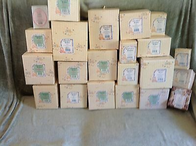 Cherished Teddies Never Open, Vintage 25 Boxes - Retired/Musical PICK 1 of 25