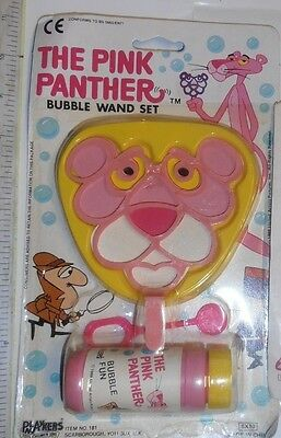 Pink Panther.bubble Wand Set Carded Toy