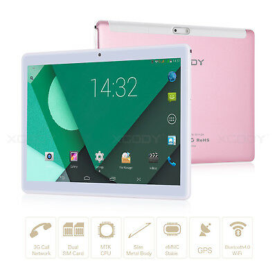 "32GB 10.1"" inch Android 4.4 Unlocked Dual SIM 3G WIFI Phone Call Tablet PC XGODY"