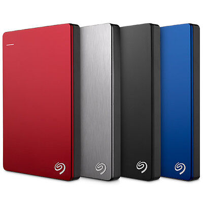 Seagate Backup Plus Slim 1TB/2TB/3TB/4TB External Portable Hard Drive USB 3.0
