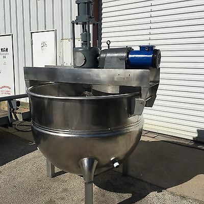 200 Gallon Hamilton (Lee) Jacketed Kettle ++++ Reconditioned