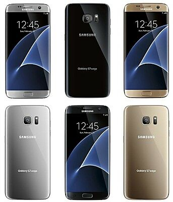 Samsung Galaxy S7 Edge | Unlocked | 4G LTE | 32GB | AT&T | T-MOBILE | UNBRANDED