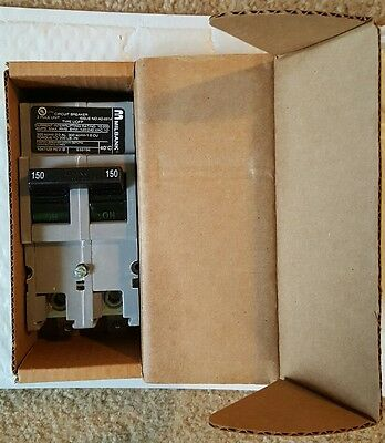 Zinsco Milbank 150 AMP MAIN BREAKER SAME DAY PRIORITY SHIPPING NEW
