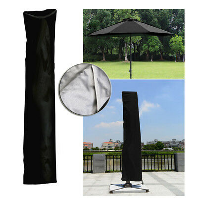 Parasol Rain Cover Outdoor Umbrella Dust Shelter Weather Protective with Rope AU